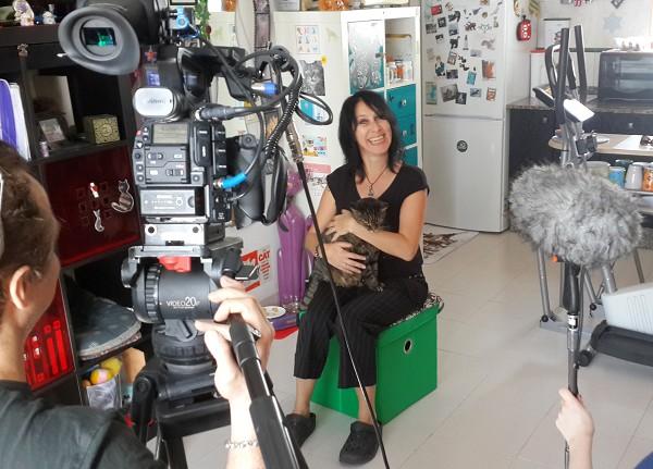 5-barbarella filming at home