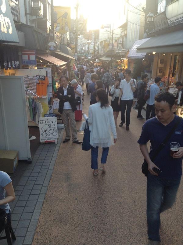 Yanaka Ginza, the main street in Yanaka.