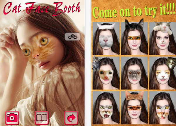 Cat-face Booth
