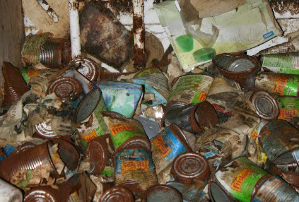 Hoarding Cans