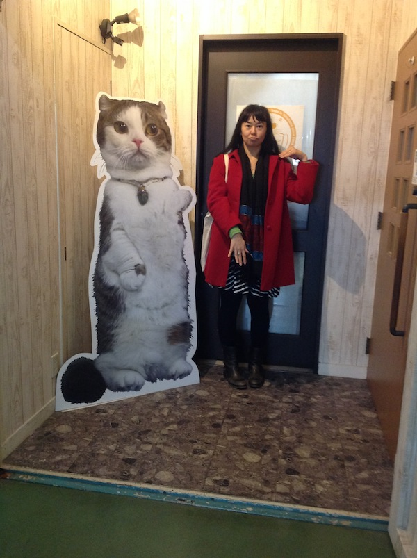 Giant Leon and me.