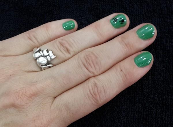 6-kitty nails manicure