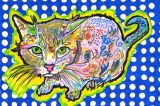 Win a Custom Portrait of Your Cat from Beccavision