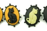 Win a Stunning Cat Pendant or Cameo Earrings From Lisa Galibardy