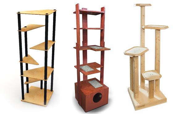 Delicieux Banish The Ugly Beige Carpet: Check Out These Cool Cat Trees   Catster