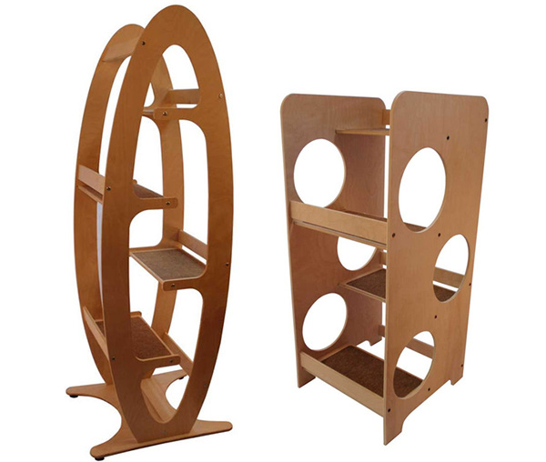 cool cat tree furniture modern banish the ugly beige carpet check out these cool cat trees catster