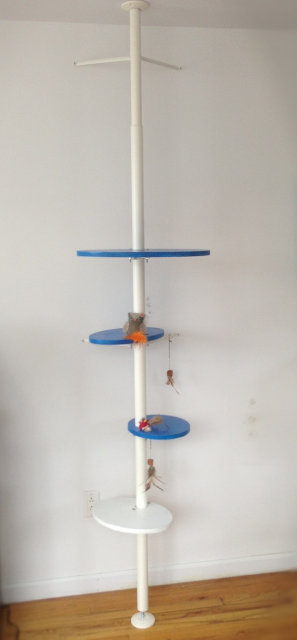 How To Make An Awesome And Stylish Diy Ikea Cat Tower