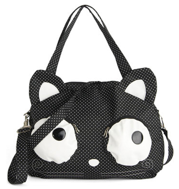 Maybe I M Just A Er But It S Not Hard To Fall For This Wacky Wide Eyed Cat Purse From Modcloth