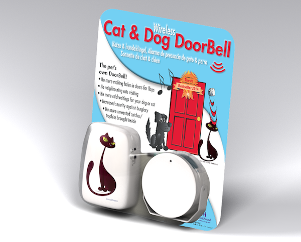 Win a Doorbell Your Cat Can Use From Cat & Hound
