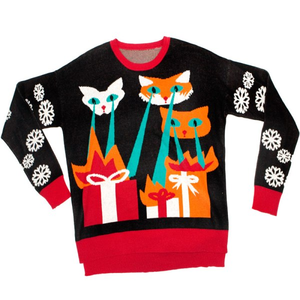 Ugly Christmas Sweater Cat.8 Ugly Cat Sweaters For The Holidays Catster