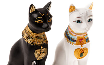 Images Of Statues Of Egyptian Cats And Dogs