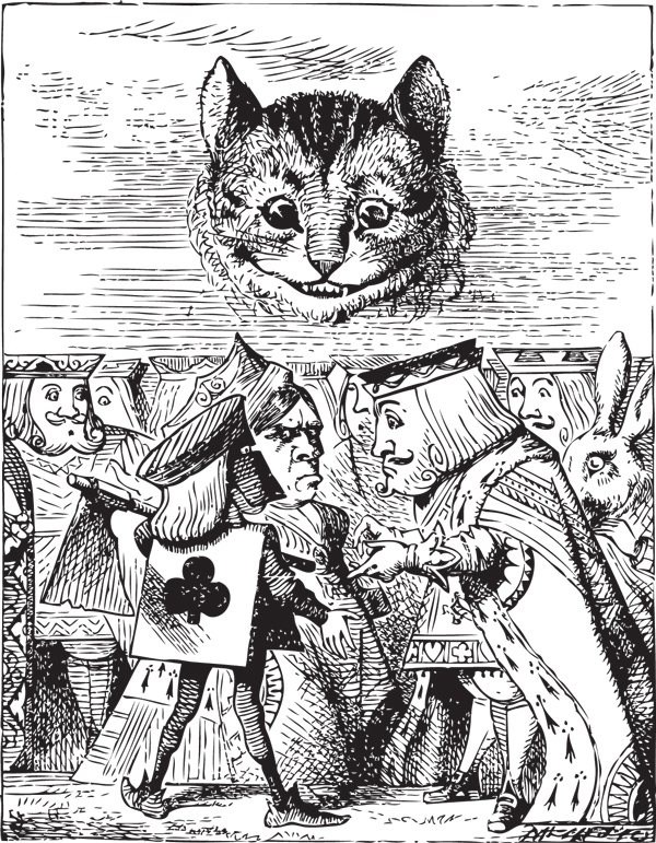 The Cheshire Cat Behind The Grin Catster
