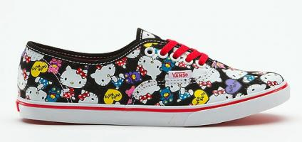 6d00455ae7 The Vans x Hello Kitty Collection  For Cool Cats Only - Catster