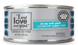 Win a Prize Pack of Cat Food and Treats from I and Love and You