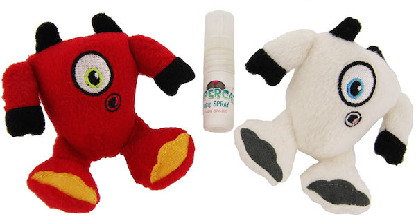Win SuperCat Plush Toys with Catnip Spray