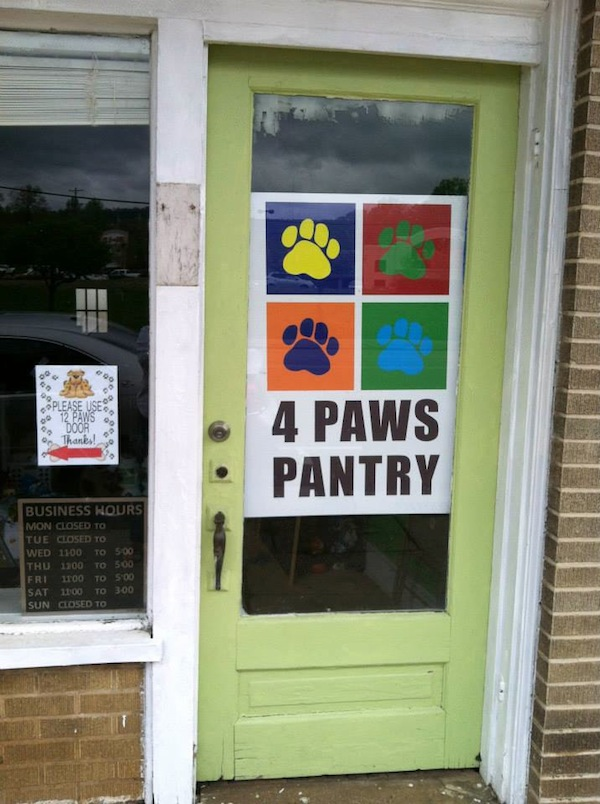 So far this year, 4 Paws Pantry has helped more than 40 cats remain in their homes.