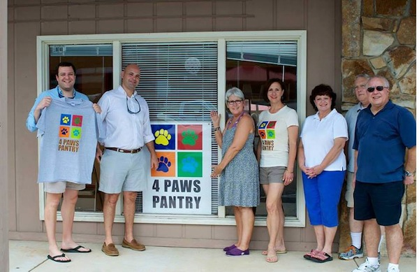 4 Paws Pantry has a brick-and-mortar location, making it different from many other food banks.