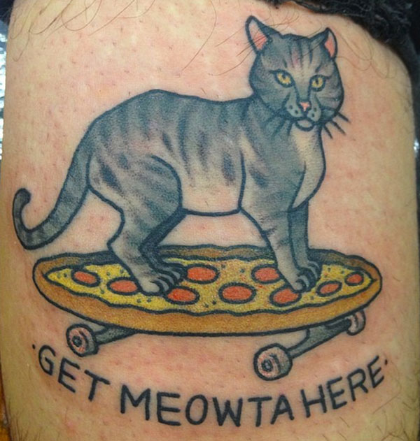We Chat With Kapten Hanna Who Specializes In Cat Tattoos