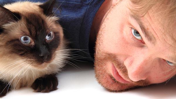 man-and-ragdoll-cat