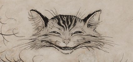 awesome cheshire cat tattoos