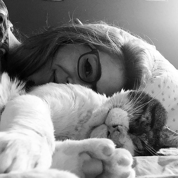 pix-we-love-booger-and-liz-bed-BW