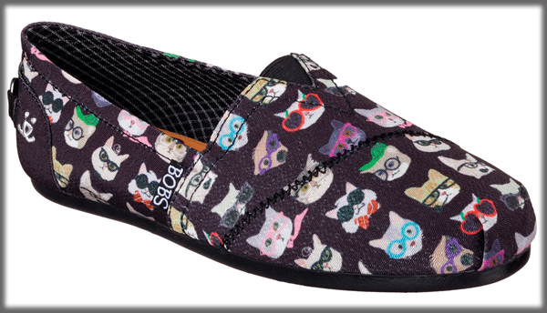 shoes skechers animal themed rescue cats pet cat friends dogs benefit benefits catster prints society multi via