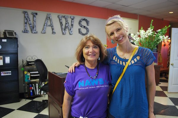 Me and NAWS founder Goldie Arnold