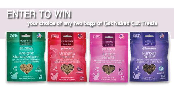 Win Cat Treats From Get Naked