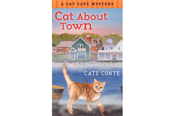 The Cat About Town book.