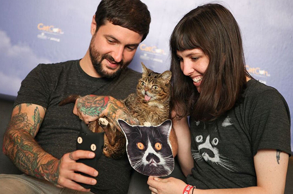 Enjoy a meet-and-greet with cat-lebrities like Lil BUB.