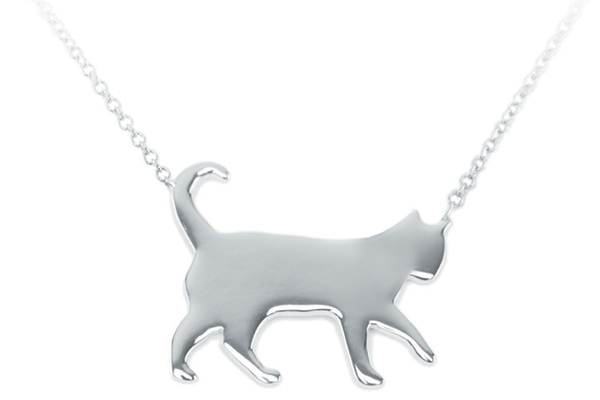 Carrie Cramer's cat jewelry.