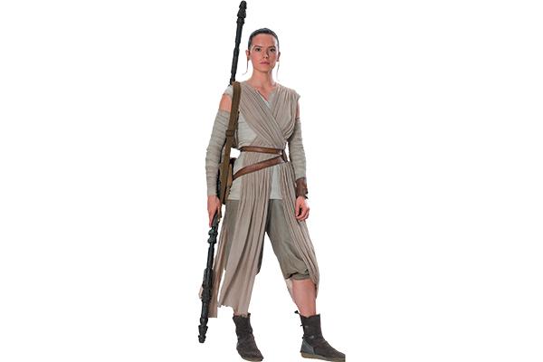 Rey from Star Wars.