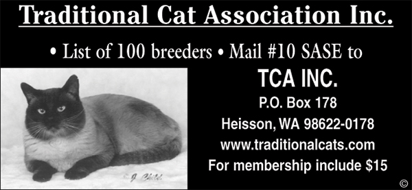 Traditional Cat Association.