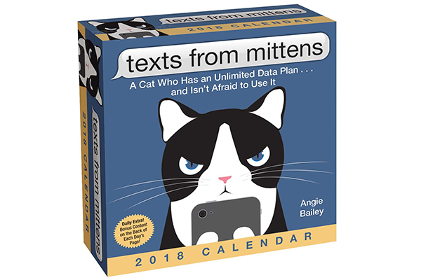 Texts from Mittens the Cat 2018 Day-to-Day Calendar.