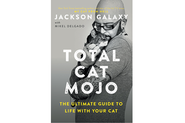 Total Cat Mojo book by Jackson Galaxy.