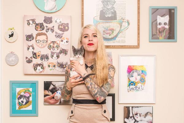 Kitten Lady.