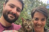 Mike, Lil BUB and Annie.