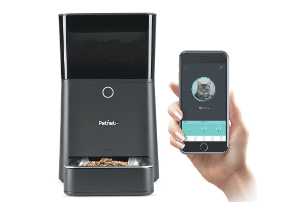 Feed your cat remotely from your phone or set a feeding schedule with the Petnet Smart Feeder. Use in conjunction with the Nest Cam to view your cat when he eats. Connect to Amazon's Alexa for hands-free voice control when you're at home. petnet.io