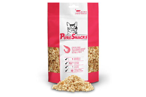 Freeze-dried chicken breast treats, PureSnacks® ($2.19). http://www.puresnackstreat.com/