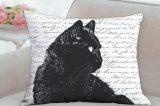 Karri's Pillows black cat pillow.