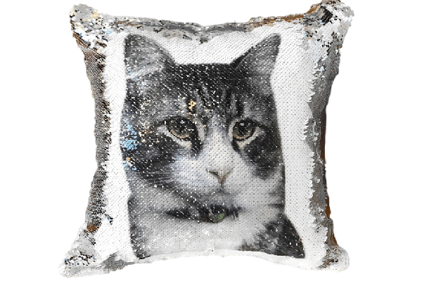 Mermaid Pillow Co. PawPillows Cat Cushion.