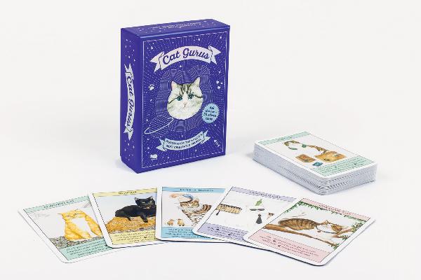 Cat gurus cat cards.