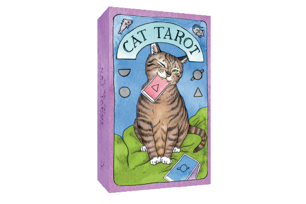 Cat tarot cards.