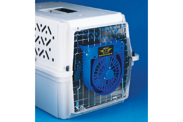 $14.99. Metro Air Force Crate Cooling Fan; jefferspet.com.