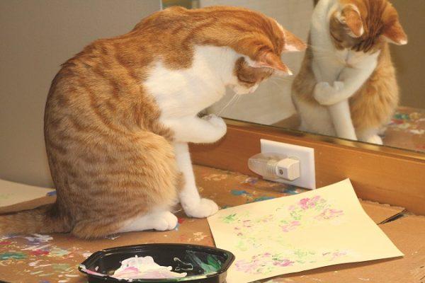 A Fabulous Feline Artist
